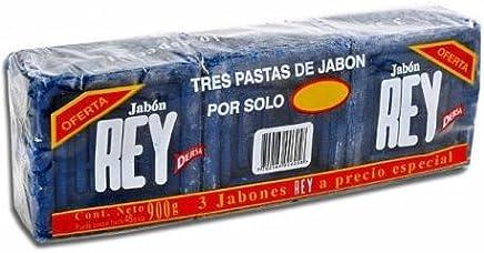Jabon Rey - 3 Pack (900g)