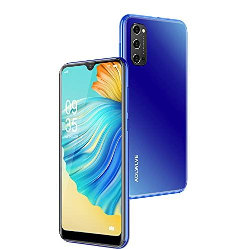 4G Smartphone Offerta del Giorno, 6.3''Android 9.0, 3GB RAM-32GB ROM 64GB Espandibili, Cellulari Offerte Dual SIM Doppia Fotocamera 4600mAh Face ID Telefono Cellulare in Offerta GPS WIFI (blu)