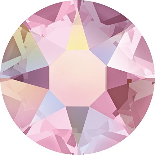 Swarovski® Kristalle 2078 HotFix SS16 (ca. 3.9mm) 100 Stück Light Rose Ab