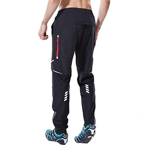 Ynport Crefreak Athletic Cycling MTB Pants Breathable Sports Trousers for Outdoor and Multi Sports Training, Size XL:Suitable Waist 30-32 inch, one color