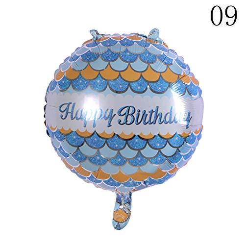 Ballonnen accessoires – Baby Shower 5 ballonnen helium ballonnen party decoratie 18 inch Happy Birthday folies – accessoires ballonnen ballonnen accessoires verjaardag Year Party 9