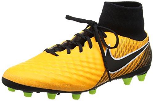 Nike Magista Onda II DF AG-Pro, Botas de fútbol para Hombre, Naranja (Laser Orange/Black/White/Volt/White), 44.5 EU