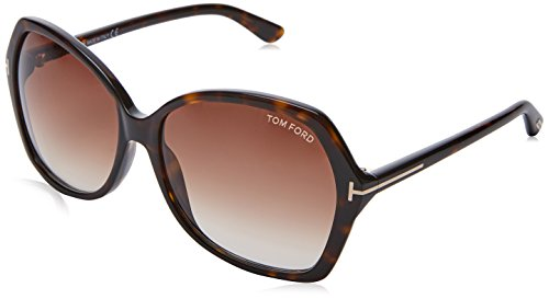 Tom Ford FT0328 52F 60 Gafas de sol, Marrón (Avana Scura/Marrone Grad), Mujer