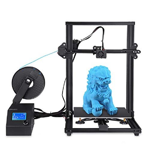 3D Printer ,With Large Heated (300 x 300 x400 mm) High-precision, Resume printing,fast 90-second DIY installation (Color : Black)