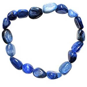 Charged Blue Kyanite Chip Bracelet