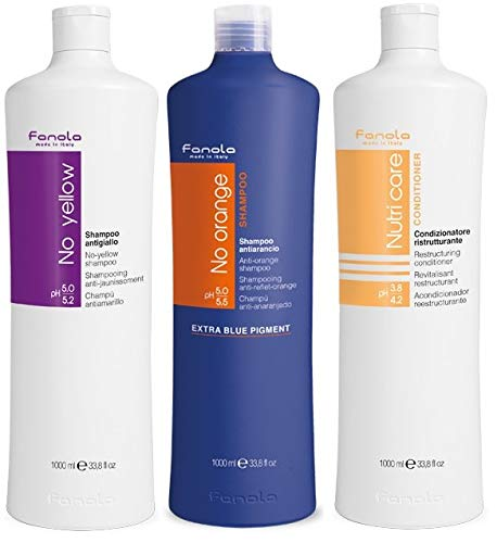 Fanola - Kit de reparacin y tono esencial (1000 ml)