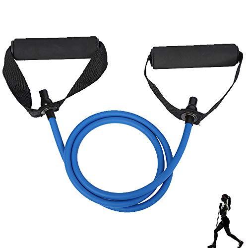 Bandas Elásticas de Resistencia, Bandas de Fitness, Banda Resistencia para Hombres, para Fortalecer el Cuerpo, Equipo de Fitness para el Hogar, Ejercicio Interior Exterior, Azul
