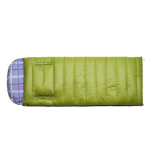 HPPSLT mummy sleeping bag backpacking sleeping bag for adults lightweight warm and washable, Outdoor stitchable mummy sleeping bag-700G cashmere-1