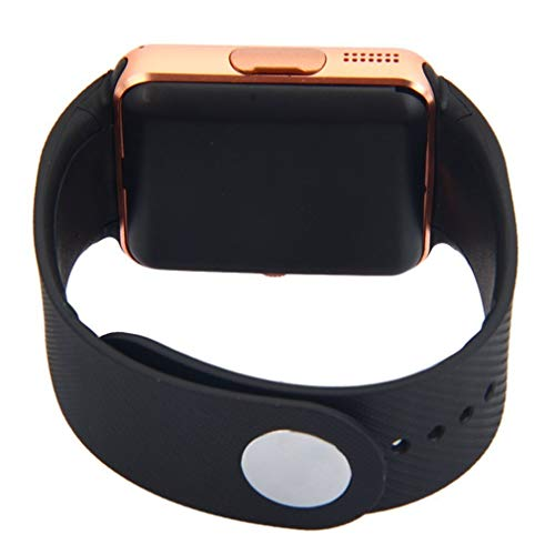 KinshopS Reloj inteligente GT08 con cámara Function Wristband Man Woman Wristwatch