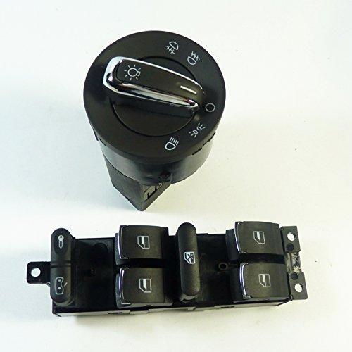 2 x réparation de rechange Interrupteur Unité Lève-vitre Bouton 3bd959857 neuf pour Leon 1 M1 TOLEDO II Bora Bora Combi Golf IV Variant PASSAT PASSAT VARIANT