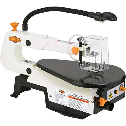 Our #4 Pick is the Shop Fox W1713 Scroll Saw
