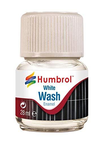 Humbrol 28 ml Emaille-Waschmittel (weiß).