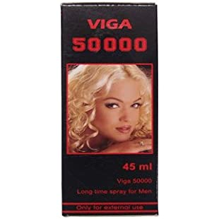 "Viga 50000 (Delay Spray for Men) with Vitamin E - Long Last Sex - - ""Shipping by FEDEX/DHL"""
