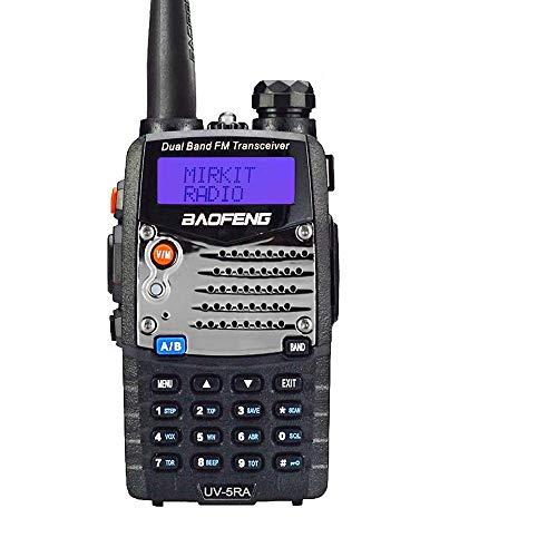 Baofeng UV-5RA - Radio Walkie Talkie, color negro