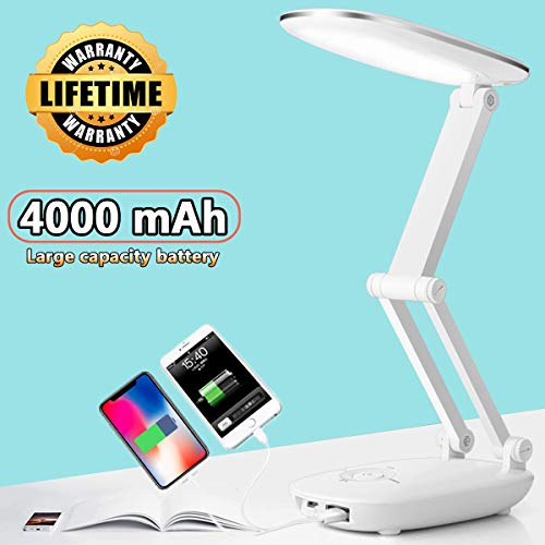 led desk lamp for kids desk lamp with usb charging port reading lights for books in bed portable fol - http://coolthings.us