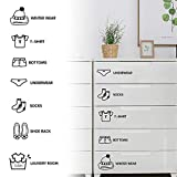 libelyef 1 juego de pegatinas de pared, para decorar el armario, decoración de pared, decoración de hogar, ropa, zapatos, pasadores para baño y cocina