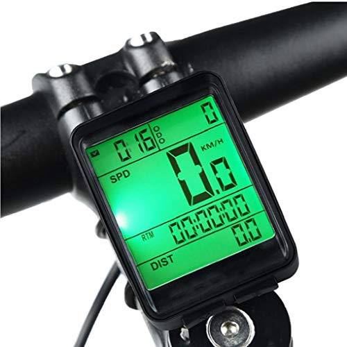 Odoukey Herramienta de la Bicicleta estática del velocímetro de la Bicicleta Velocímetro inalámbrico Bici de la computadora Impermeable Moto odómetro Ciclo Accesorios al Aire Libre