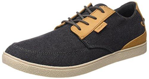 Springfield Zapto, Zapatos de Cordones Derby Hombre, Gris (Dark Grey), 45 EU