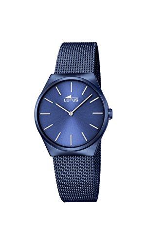 Lotus Damen Analoger Quarz Uhr mit Edelstahl Armband 18290/2
