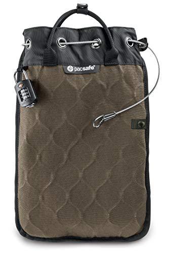 Pacsafe Travelsafe 5L - Mobiler Safe mit TSA-Zahlen Schloß, Trage-Tasche mit...