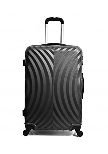 Hero Lagos Suitcase, 60 cm, liters, Black (Noir)