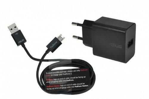ASUS PadFone 2 (A68) Original Netzteil 10 Watt EU Wallplug inkl. Ladekabel