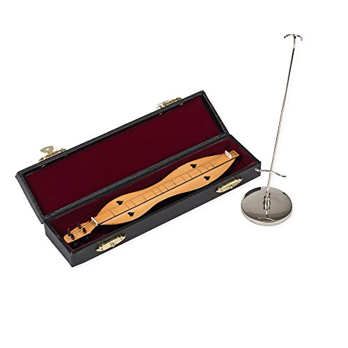 Broadway Geschenke 17,8cm Dulcimer Instrument Miniatur