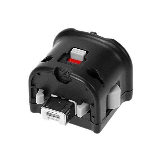 COOLEAD Adaptador Motion Plus para Wii Mando a Distancia Reemplazo Adaptador de Sensor Motion Plus para Wii Remoto Controller (Producto de Terceros) (Negro)