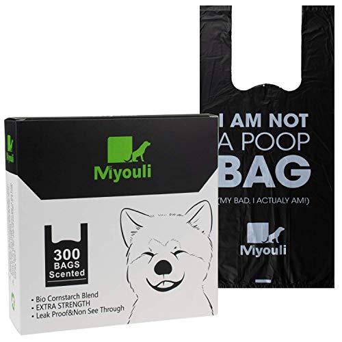 Miyouli Hundekotbeutel, 300 Stück