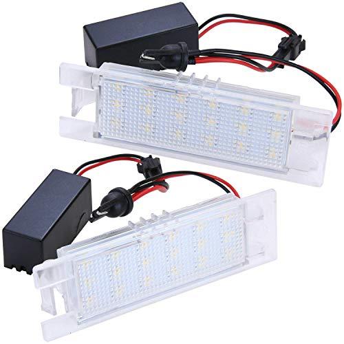 Luz de matrícula LED para Astra H + J, Corsa D, Zafira B