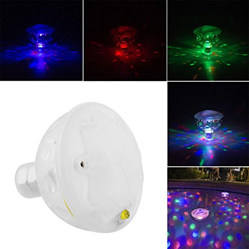 FomCcu 5 motifs lumineux sous l'eau Aquarium de lumière LED Glow Light pour piscine Show Disco Party Spa de bain Bassin artistique Couleur