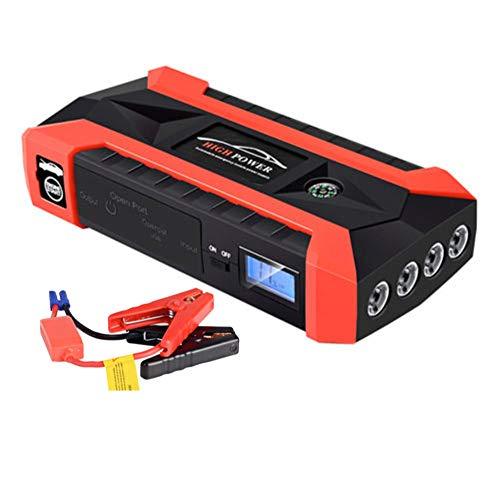 JieDianKeJi 89800mah Car Jump Starter Pack Booster LCD 4 Cargador USB BateríA Banco De EnergíA Nuevo para Cargador De BateríA De AutomóVil Buster Powerbank