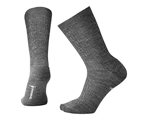 Smartwool Women's Cable II Socks,Medium Gray,Medium B(M) US