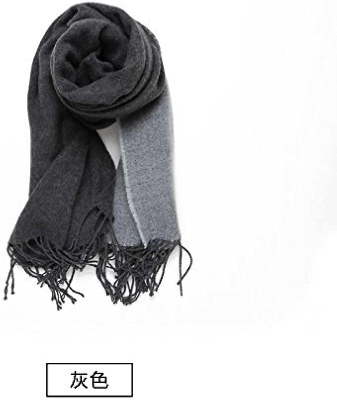 DIDIDD Scarfladies thickening scarf autumn winter imitation wool air conditioning room warm shawl