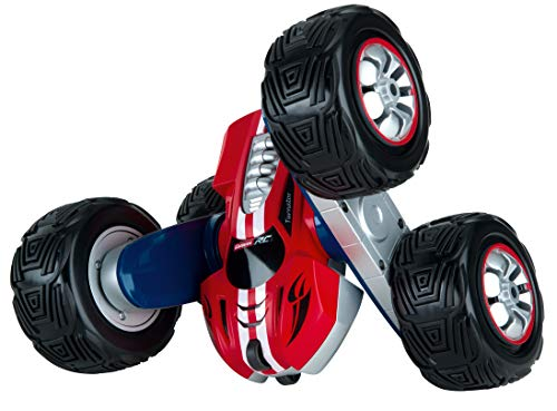 Carrera RC 2,4GHz Turnator - 360° Flip Action I Ferngesteuertes Auto für drinnen & draußen I Elektro-Mini-Car zum Mitnehmen inkl. Fernbedienung I Spielzeug für Kinder ab 6 Jahren & Erwachsene
