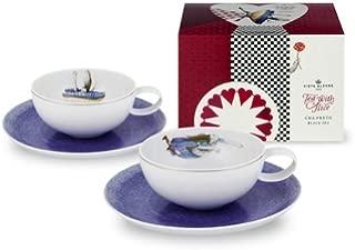 Vista Alegre Alice In Wonderland Tea with Alice Set of Two Tea Cups