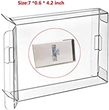 Childhood 10Pcs Clear Protective Box Case Display Sleeve Protector for PSP Games Cartridge Box
