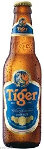 6 Flaschen Tiger Beer Asien a 0,33L Bier Tiger asian inc. 0,48€ MEHRWEG Pfand