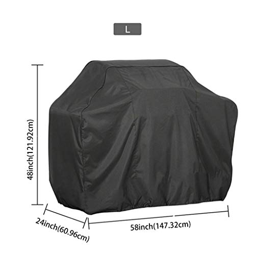 niumanery BBQ Cover Outdoor Dust Waterproof Weber Heavy Duty Grill Cover Rain Protective 9#