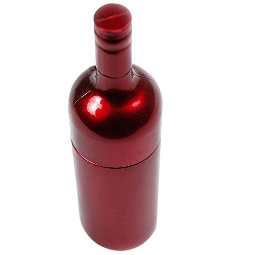 Botella de Vino 8 GB - Wine Bottle Red - Memoria Almacenamiento de Datos - USB Flash Pen Drive - Memory Stick - Rojo