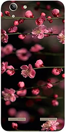 Casotec Pink Flowers Design Hard Back Case Cover for Lenovo Vibe K5 Plus
