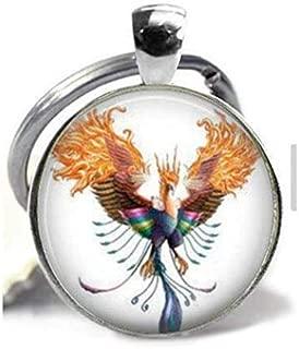 Phoenix Pendant,Fire Bird, Rise from The Ashes,Reborn,New Start,Rising Phoenix,Gift Keychain