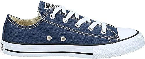 Converse All Star OX 7J237 - Zapatillas de tela para Niños, Azul (Marine), 22 EU