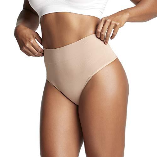 Yummie Tummie Damen Unterkleid YT4-012, Gr. 36/38 (S), Hautfarben (NUDE)