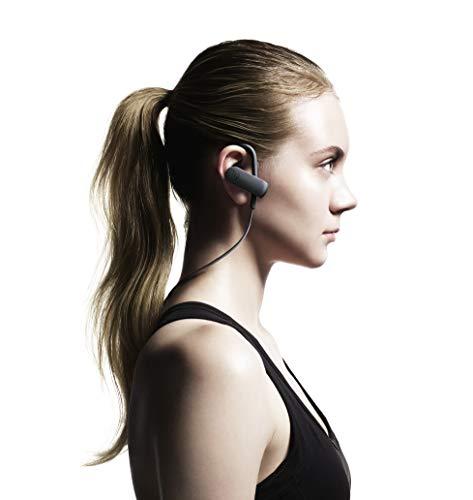 audio-technicaSONICSPORTワイヤレスイヤホン防水/スポーツ向けBluetoothリモコン/マイク付グラファイトブラックATH-SPORT50BTBK
