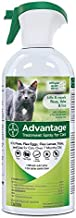 Advantage Flea and Tick Treatment Spray for Cats, 8 oz