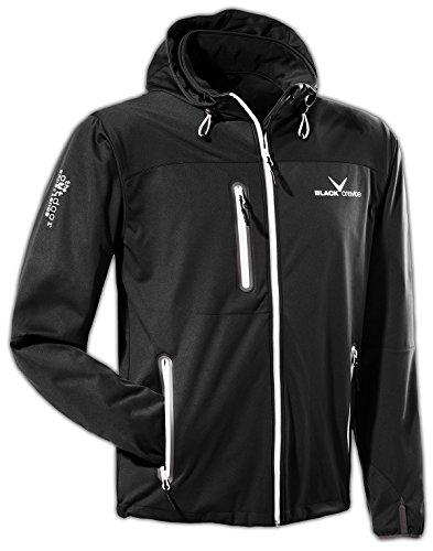Black Crevice BCR3620 Veste Softshell pour Homme XXXL Noir/Blanc