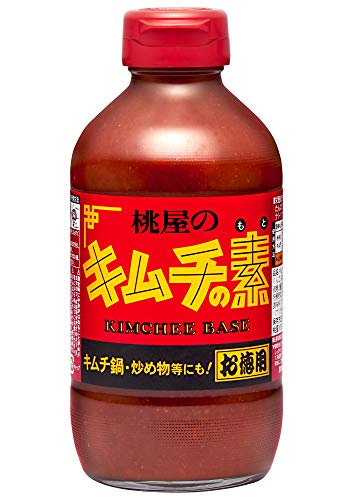 桃屋 キムチの素お徳用 450g×6本