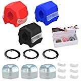 Jawline Exerciser, Face Slimmer for Men and Women - Jaw and Neck Exerciser, Define Your Jawline, Slim and Tone Your Face - Reduces Cravings and Stress - Restore Younger Look Pack of 3 by Mixipik