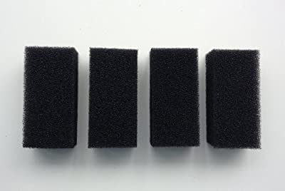 Finest-Filters 4 x Replacement Foams for 300l/h Internal Filter (Hidom AP-600L)